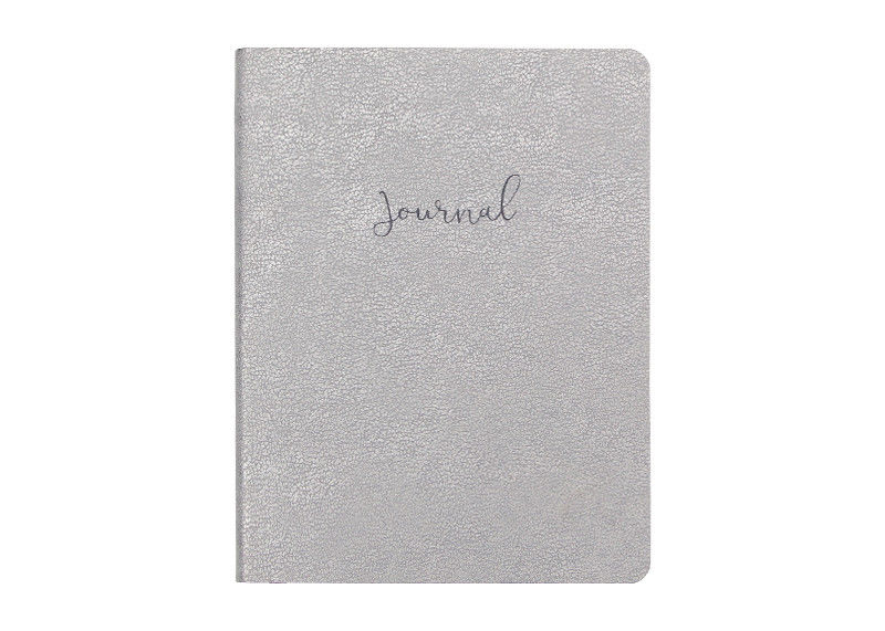 Silver Custom Journal Printing Rectanular Oval Other Special Shape Perfect Edition