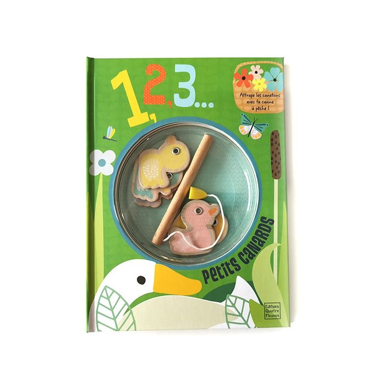 Cute Duck Theme A4 Children'S Board Book Printing